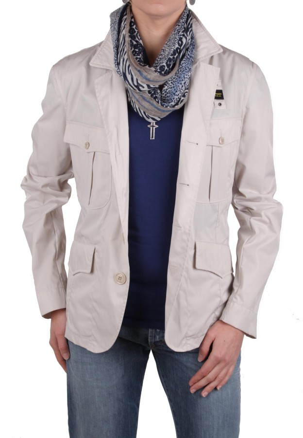 blauer u s a damen jacke trenchcoat blazer beige gr m. Black Bedroom Furniture Sets. Home Design Ideas