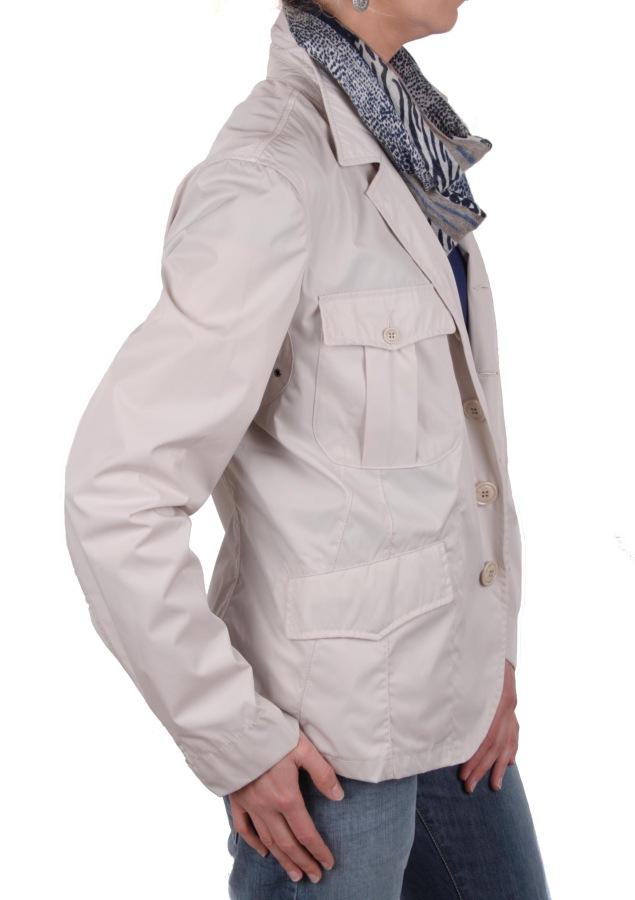 blauer u s a damen jacke trenchcoat blazer beige gr m xxl ebay. Black Bedroom Furniture Sets. Home Design Ideas