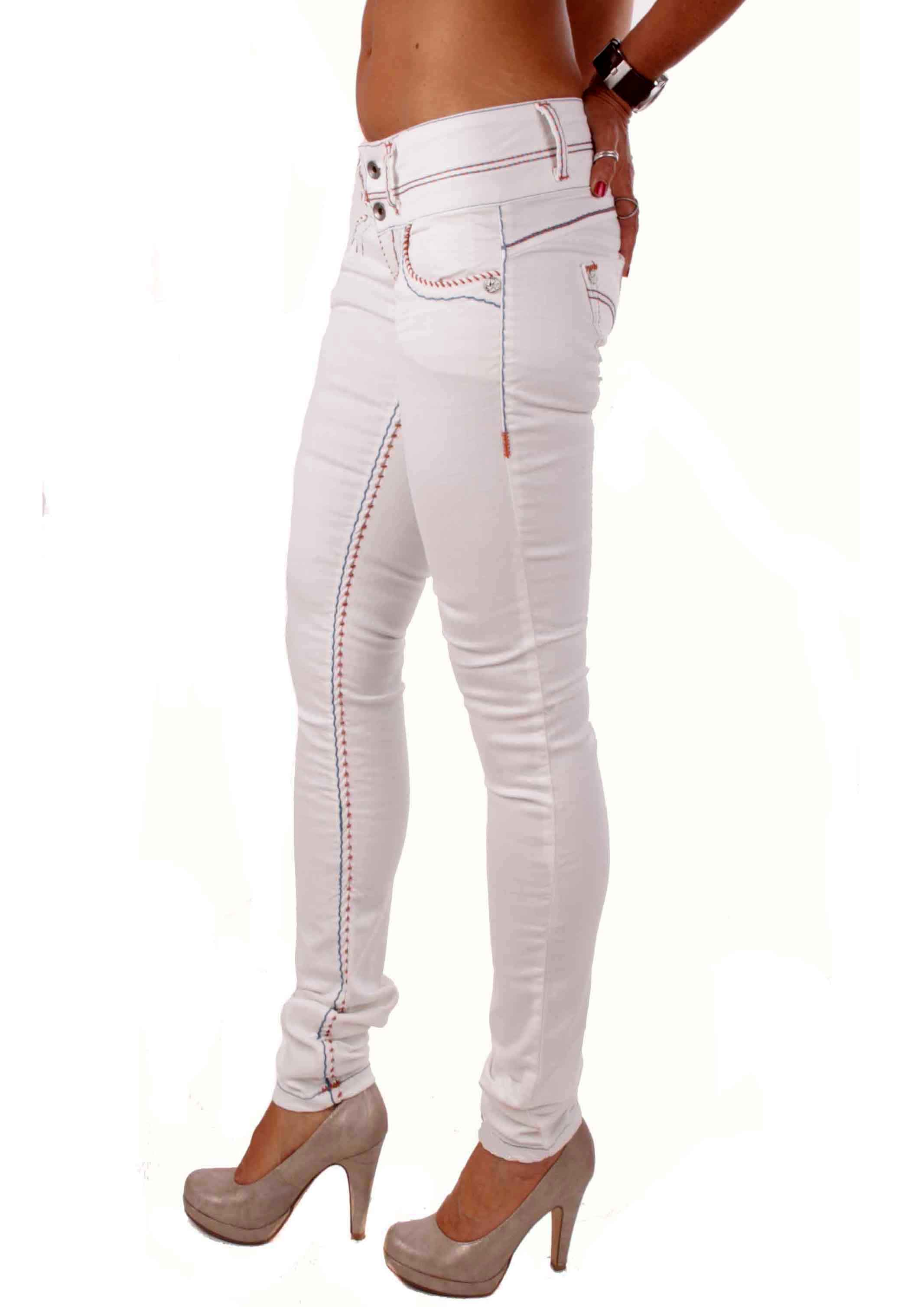 cipo baxx damen jeans hose dicke n hte cbw 0441 creme ebay. Black Bedroom Furniture Sets. Home Design Ideas